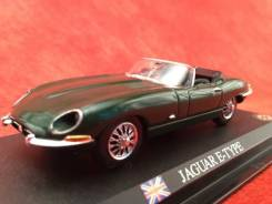 Jaguar E-TYPE 1961 British Green