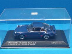 Porsche 911 Carrera RSR 2.8 1973 Blue Red Line