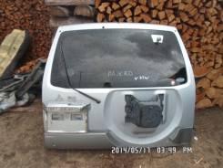Дверь багажника. Mitsubishi Pajero, V73W Двигатель 6G72