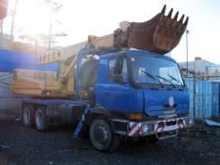 Tatra UDS-114. Экскаватор-планировщик UDS-114 на шасси Tatra T815-280R21 6x6.2 Euro-3, 4 500 куб. см., 0,63куб. м.