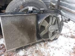 Радиатор охлаждения двигателя. Toyota Caldina Двигатель 2C