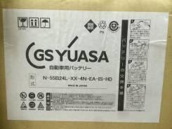 Yuasa. 45 А.ч., левое крепление, производство Япония