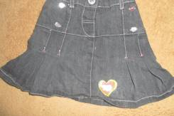 Юбки джинсовые. Рост: 86-98 см