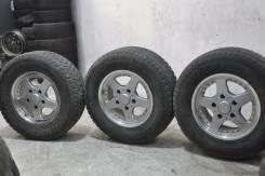 3 колёса 275/65 R17 Bridgestone Blizzak DM-Z3 на TLC-100 (15-2). 8.0x17 5x150.00 ET54 ЦО 107,0мм.