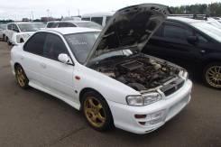 Зеркало заднего вида салонное. Subaru Impreza WRX STI, GC8