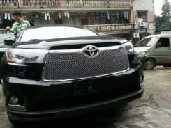 Молдинг решетки радиатора. Toyota Highlander