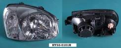 Фара. Hyundai Santa Fe Hyundai Santa Fe Classic, SM Двигатели: 2, VM, MOTORI, CRDI, G6BA