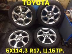 Toyota. 6.5x17, 5x114.30, ET50