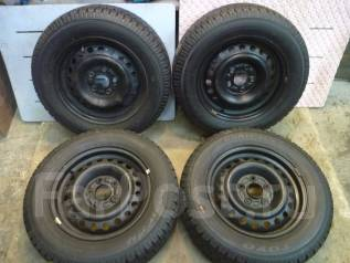 Японские колеса 195/65 R15 на штамповке 5х114,3. 6.0x15 5x114.30 ЦО 66,1мм.