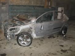 Щиток тормозной грязезащитный задний Peugeot 307