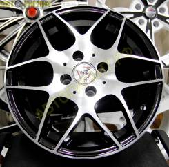 NZ Wheels F-32. 6.0x15, 4x98.00, ET35, ЦО 58,6 мм.