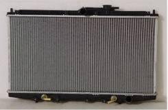 Радиатор охлаждения двигателя. Honda Torneo, CF4, CF3, CF5 Honda Accord, CF5, CF4, CF7, CF6, CF3, CF2 Honda Prelude, BB8, BB4, BB5, BB6, BB7, BB1 Двиг...