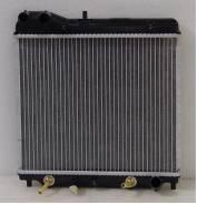 Радиатор охлаждения двигателя. Honda Jazz, GD5, GD1 Honda Fit, GD4, GD3, GD2, GD1, LA-GD3, LA-GD4, LA-GD1, LA-GD2, UA-GD1 Двигатели: L13A2, L13A1