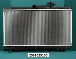 Радиатор охлаждения двигателя. Hyundai Verna Hyundai Accent, LC, LC2 Двигатели: G4EK, G4EB, G4ECG, G4EA
