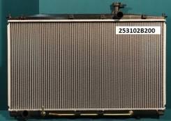 Радиатор охлаждения двигателя. Hyundai Santa Fe, CM Двигатели: G4KE, D4EBV, G6EA, D4HB