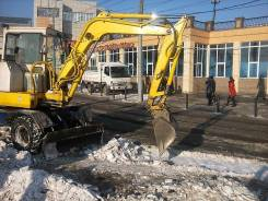 Уборка снега. чистка территории . вручную и техникой