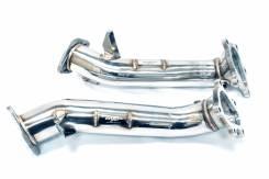 MXP Приемные трубы (без катализаторов) для Nissan GT-R R35. Nissan GT-R, R35