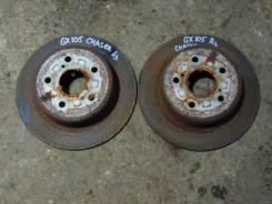 Диск тормозной. Toyota Chaser, GX105 Toyota Cresta, GX105 Toyota Mark II, GX105 Двигатель 1GFE