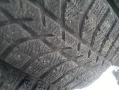 Bridgestone Ice Cruiser 5000. Зимние, шипованные, износ: 10%, 4 шт