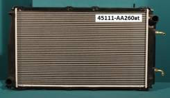 Радиатор охлаждения двигателя. Subaru Legacy, BC3, BG7, BF7, BD5, BC5, BG9, BG3, BF3, BG5, BF5, BD3, BGA, BFA, BD9, BGC, BCA, BCK, BCM, BG2, BD4, BC4...