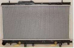 Радиатор охлаждения двигателя. Subaru Legacy, BHC, BES, BH5, BHE, BHCB5AE, BE5, BEE, BH9, BE9 Subaru Impreza, GGC, GGB, GGA, GD9, GG9, GD4, GD3, GG5...