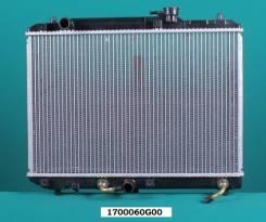 Радиатор охлаждения двигателя. Suzuki Cultus Crescent, GC41W, GD31W, GC21W, GA21S, GD21S, GA11S, GD31S, GC21S, GB31S, GB21S Suzuki Esteem, GD21S, GA21...
