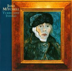 "CD Joni Mitchell ""Turbulent indigo"" 1994 Germany"