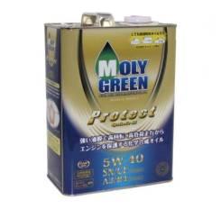 Moly Green. Вязкость 5W40, синтетическое