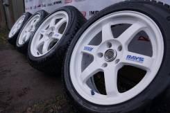 RAYS VOLK RACING. 7.5/8.5x17, 5x114.30, ET40/40