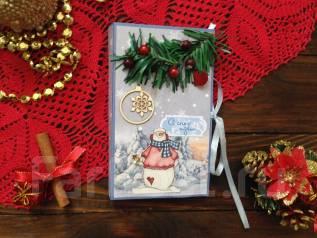 Подарок на Новый год ручной работы-шоколадница. Под заказ