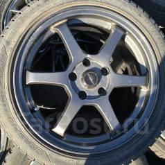 Колеса 215/45R17 Dunlop 5x114.3 R17. 7.0x17 5x114.30 ET38