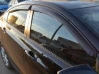 Ветровик на дверь. Hyundai Solaris