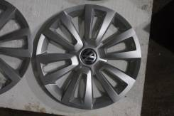 "Колпак диска VW R16 Passat B7 Mexico 5C0601147 оригинал новый. Диаметр Диаметр: 16"", 4 шт."