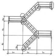 Изготовление лестниц стальных на заказ по серии 1.450.3-7.94