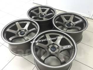 NEW! Комплект дисков RAYS TE37 R17 9j ET+30 5*100 (F-9933). 9.0x17, 5x100.00, ET30, ЦО 73,1мм.