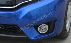 Накладка на фару. Honda Fit, GK4, GK5, GK3, GK6, GP5, GP6 Двигатели: L13B, L15B, LEB
