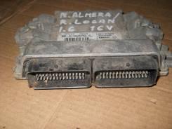 Блок управления двс. Renault Logan, LS1Y Nissan Almera, G11 Двигатели: K4M, K4M690