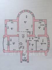 3-комнатная, Хабаровск, улица Тургенева, 55. Центральный, агентство, 129 кв.м. План квартиры