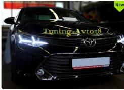 Фары передние тюнинг Toyota Camry ACV55 2014-