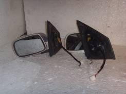 Зеркало заднего вида боковое. Toyota Vitz, NCP10
