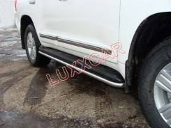Накладка на порог. Toyota Land Cruiser Prado