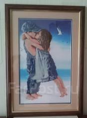 Картина, ручной работы, в раме. Отличный подарок. Владивосток.