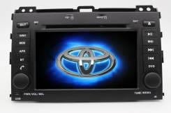 Штатная магнитола для Toyota Prado 120. DVD/USB/TV/BT/GPS