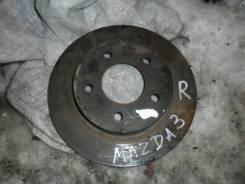 Диск тормозной. Mazda Mazda3, BK