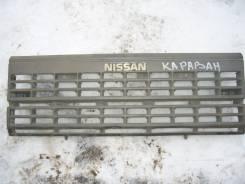 Решетка радиатора. Nissan Caravan, KRME24 Двигатель TD27T