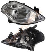 Фара. Nissan Tiida, C11, SC11, NC11, JC11, SJC11, SNC11, SZC11 Nissan Tiida Latio, SC11, SJC11, SNC11, SZC11 Двигатели: MR18DE, HR16DE, HR15DE. Под за...