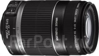 Объектив EF-S Canon 55-250 f/4-5,6 IS II + UV-фильтр. Для Canon, диаметр фильтра 58 мм