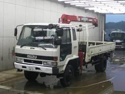 Isuzu Forward. Мостовой манипулятор , 6 490 куб. см., 7 500 кг. Под заказ