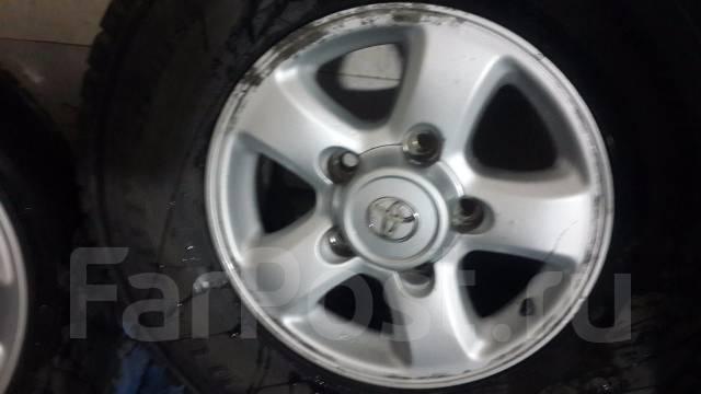 Прода комплект колес с 100-го крузака 275/70R16. Япония!. 8.0x16 5x150.00 ET60
