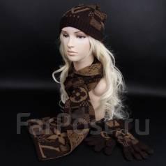 Шапка, шарф и перчатки. 56. Под заказ